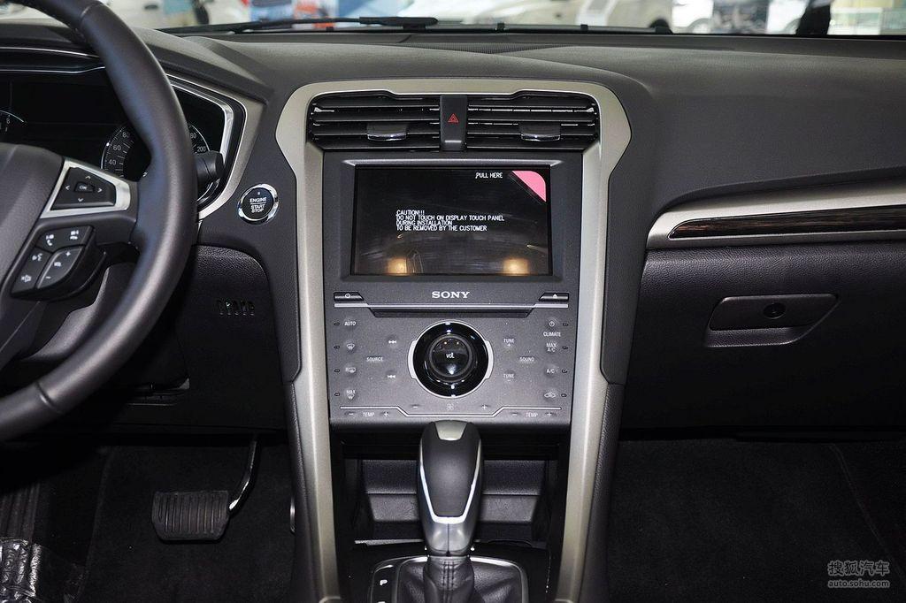 2013款福特新蒙迪欧gtdi240至尊型 - 中控台图片