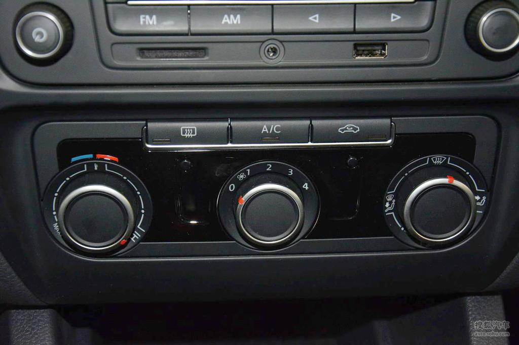 奥迪a6空调控制面板