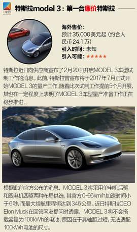 日夜期盼引入的新能源车(电动篇)