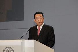 广汽丰田执行副总经理冯兴亚致辞