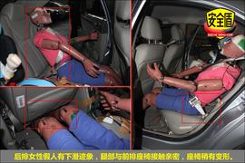 2011款江淮和悦1.5L手动运动尊贵型碰撞图解