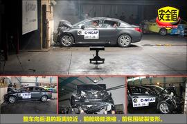 2011款标致508 2.3L自动豪华版碰撞试验图解