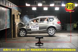 2011款长城哈弗H6绿静2.0T柴油精英型碰撞试验图解