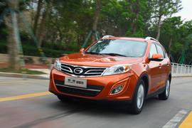 2012款广汽传祺GS5 2.0L尊贵版试驾