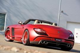 压榨极限 奔驰SLS AMG Roadster改装集锦