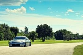 银色子弹华丽亮相 日产350Z惊艳车身改装