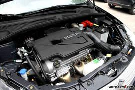 2008款铃木SX4黑色限量版外观
