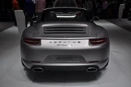 保时捷911 Carrera北京车展实拍