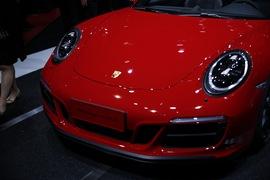 保时捷911 Targa4 GTS上海车展实拍