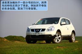 2012款逍客2.0XV 龙 CVT四驱沙漠试驾实拍