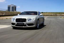 2012款宾利欧陆GT V8赛道试驾实拍