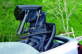 车评网试驾大众高尔夫敞篷版轿车