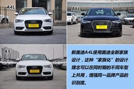 2013款一汽奥迪A4L 35TFSI自动标准型到店实拍