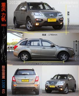 六款自主SUV实用性对比