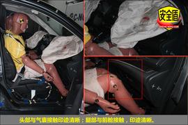 2012款本田CR-V 2.4L四驱尊贵版碰撞试验图解