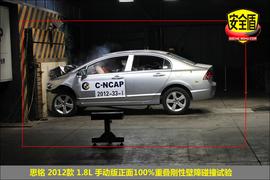 2012款思铭1.8L手动型碰撞试验图解