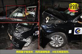 2012款迈腾1.4TSI舒适型碰撞试验图解