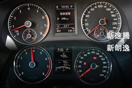 试驾大众2013款朗逸1.4TSI DSG豪华导航版
