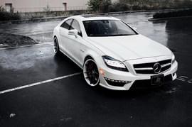 白色幽灵 SR Auto改装新款奔驰CLS63 AMG