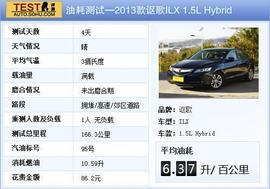 2013款讴歌ILX 1.5L Hybrid评测实拍