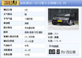 2012款大众辉腾3.0L V6评测实拍