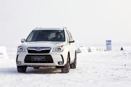 冰雪试驾2013款斯巴鲁森林人