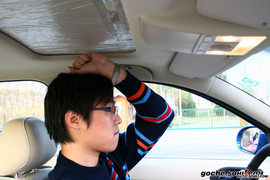 2008款上海大众朗逸试驾实拍