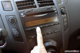 2008款雅力士RS至尊劲锐版试驾