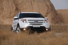 2013款福特探险者试驾