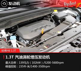 2017款哈弗H6 1.3T蓝标自动两驱智尚型试驾