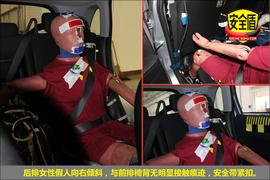 2013款劲炫ASX 2.0L手动两驱舒适版碰撞试验