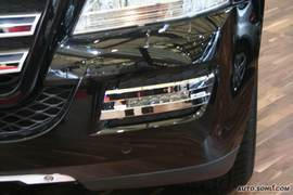 奔驰GL450 09上海车展实拍