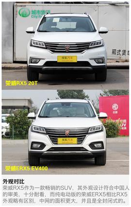 2017款荣威RX5/ERX5实拍解析