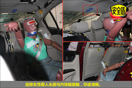 2013款本田凌派1.8L自动豪华版碰撞试验图解