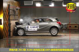 2013款奔驰A180时尚型碰撞试验图解