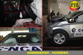 2013款丰田RAV4 2.5L自动四驱精英版碰撞试验