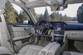 2014款奔驰E400L运动豪华型试驾实拍