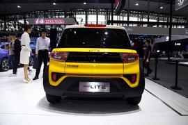北汽新能源LITE 广州车展实拍