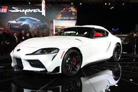 丰田Supra速霸 北美车展实拍