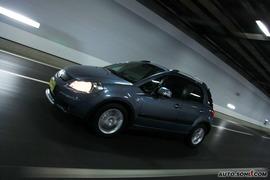 2009款长安铃木天语SX4手动档试驾