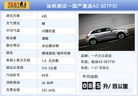 国产奥迪A3 35TFSI本地评测