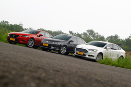 中型车横评对比测试