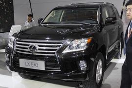 雷克萨斯LX570 广州车展实拍
