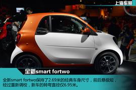 上海车展:全新一代smart fortwo新车解码