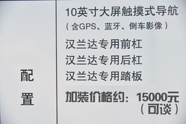 2015款丰田汉兰达2.0T两驱豪华版到店实拍