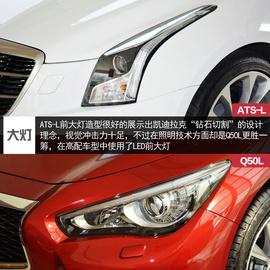 ATS-L对比Q50L
