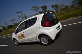 2010款奔奔mini试驾