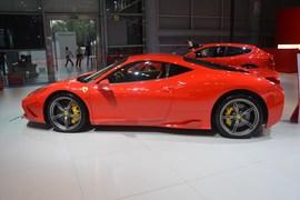 法拉利458SPECIALE成都车展实拍