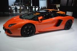 兰博基尼Aventador成都车展实拍
