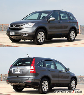 2010款本田CR-V台湾试驾